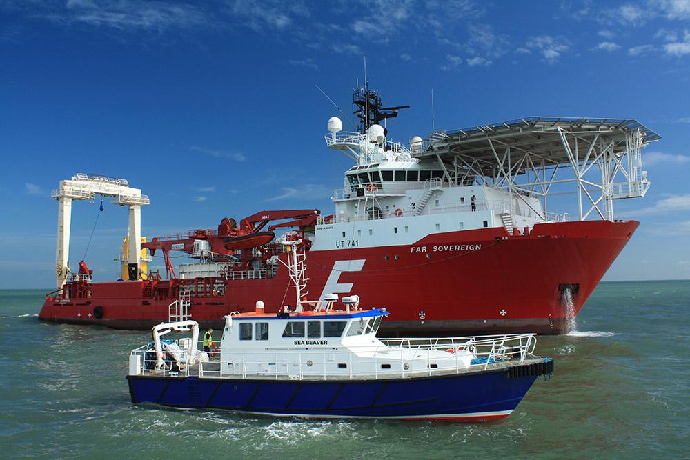 Enviroserve Workboats   Powering Offshore Construction